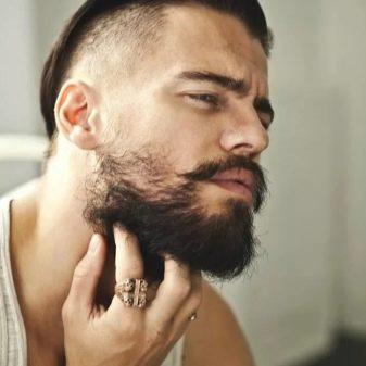 Мужские прически с выбритыми висками и длинными волосами