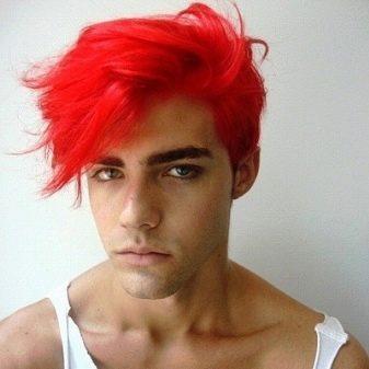 В какой цвет покраситься парню