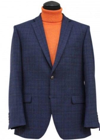 С чем носить синий мужской пиджак?