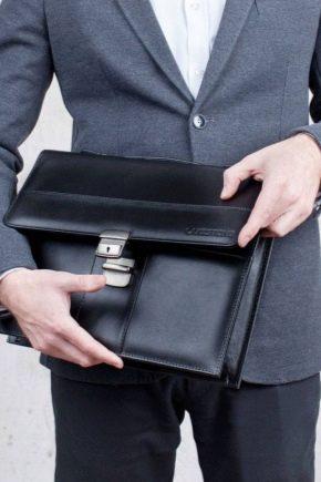 Мужские сумки для документов: виды, лучшие бренды и секреты выбора
