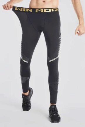 Все о мужских компрессионных штанах для спорта
