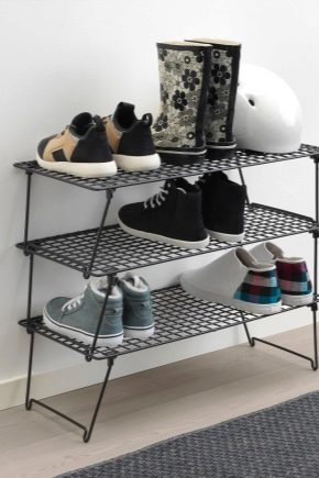 Выбираем этажерку для обуви в прихожую