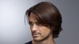 Варианты мужских стрижек на волосы средней длины