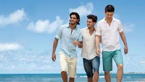 Мужские бриджи: модные тенденции, правила выбора, примеры образов