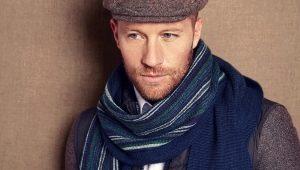 Как красиво завязать шарф мужчине?