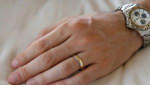 Как узнать размер пальца для кольца у мужчины?