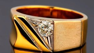 Мужские кольца из золота с бриллиантами: как выбрать и носить?