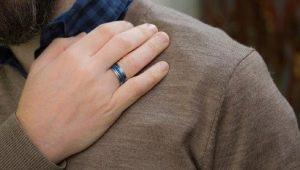 Мужские кольца с сапфиром: виды и особенности ухода