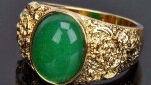 Мужские золотые кольца с изумрудом: варианты дизайна и секреты ухода