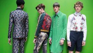Особенности мужских штанов Gucci