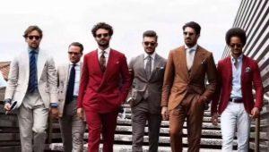 Правильное сочетание цветов в мужской одежде