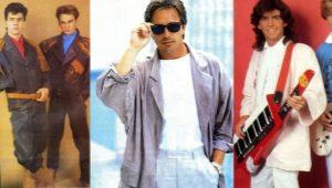 Мода 80-х годов для мужчин