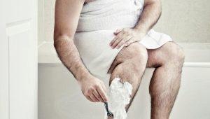 Можно ли мужчинам брить ноги и как это делать?