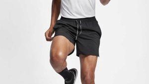 Мужские шорты для бега