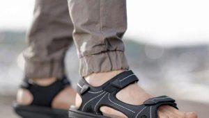 Мужские спортивные сандалии: как выбрать и с чем носить?