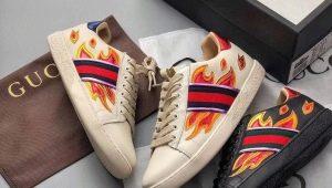Обзор мужских кроссовок Gucci