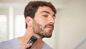 Как правильно брить бороду триммером?
