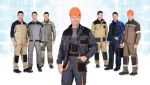 Мужские рабочие костюмы: характеристика и правила выбора