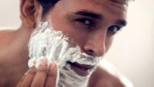 Разновидности и использование пены для бритья