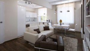 Дизайн 2-комнатной квартиры площадью 60 кв. м