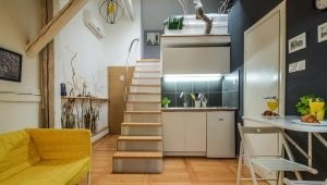 Двухуровневые квартиры-студии