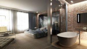 Особенности ванны в спальне