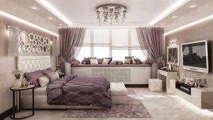Дизайн и обустройство спальни площадью 19-20 кв. м