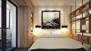 Дизайн спальни 3 на 4 метра