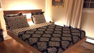 Как сделать парящую кровать своими руками?