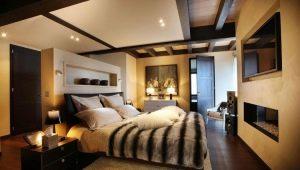 Обустройство больших спален