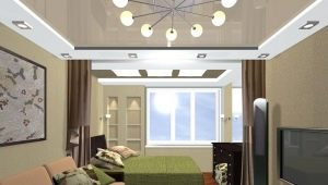 Обустройство спальни-гостиной площадью 18 кв. м