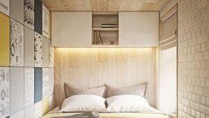 Оформление спальни площадью 6 кв. м