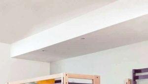 Особенности двуспальных кроватей-чердаков
