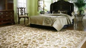 Особенности ковров в спальню и секреты их выбора