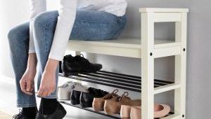 Подставки для обуви в прихожую
