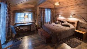 Все о спальнях в деревянных домах