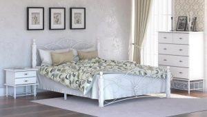 Выбираем белую кованую кровать