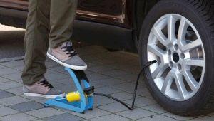 Особенности ножных автомобильных насосов