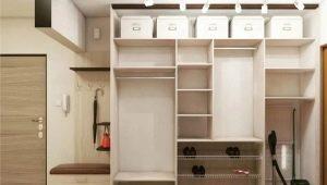 Варианты наполнения шкафов в прихожей