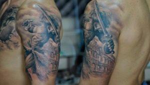 Мужские татуировки на плече со смыслом