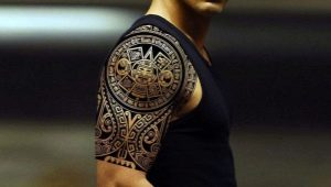 Обзор самых красивых мужских тату на плече
