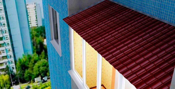 Все о крышах на балкон