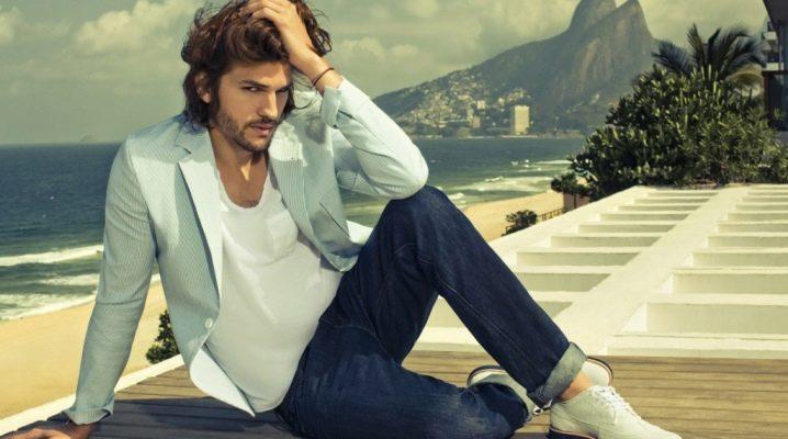 Мужские пиджаки под джинсы: разновидности, выбор, правила сочетания