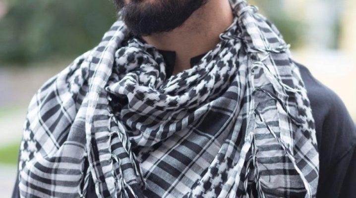 Мужские арафатки: c чем носить и как завязать?