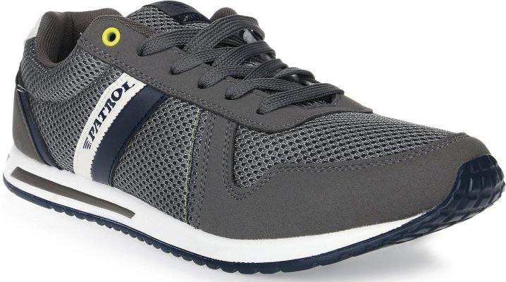 Характеристики и модели мужских кроссовок Patrol