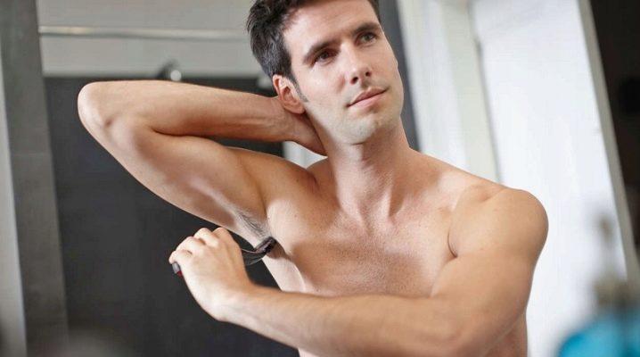 Нужно ли брить подмышки мужчинам и как правильно это делать?