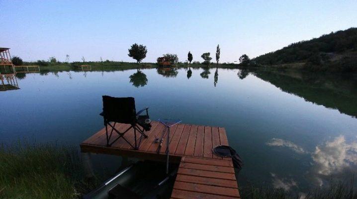 Рыбалка в Крыму на озерах