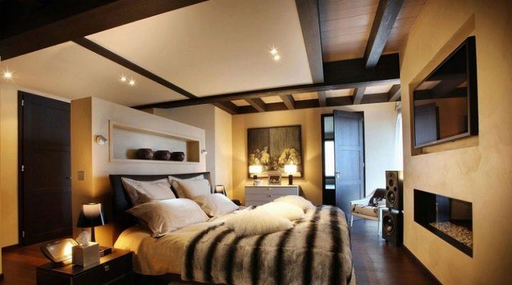 Какими бывают потолки в спальне и какой лучше сделать?