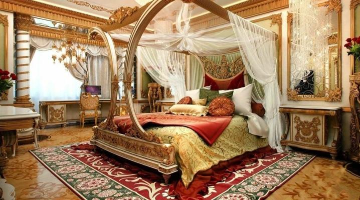 Способы оформления спален в восточном стиле
