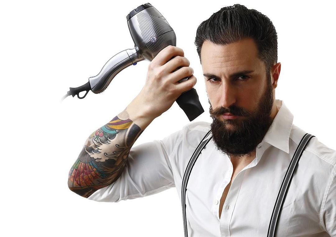 Мужские укладки: как мужчинам укладывать кудрявые волосы при помощи геля и лака? Как уложить и сделать фиксацию коротких, средних и длинных волос? || Как уложить волосы назад мужчине без геля